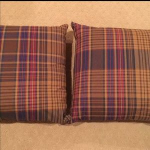 Other - Set of Ralph Lauren Tartan Plaid Throw Pillows